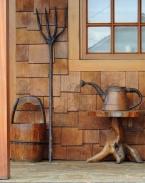 Rustic Garden Tools
