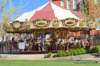 The Carousel in Saint George, Utah