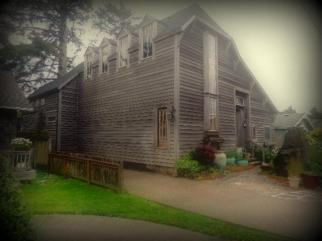 Rustic house in Cannon Beach, OR.