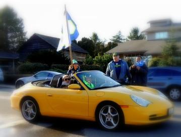 Sportscar fan support!
