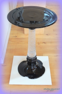 A table lamp....