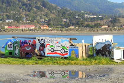 The Cat Houses of Gold Beach....