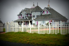 I saw this Victorian home on one of my walks along the cliffs near where we stayed.