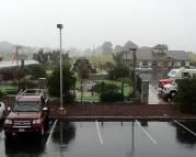Miniature Golf in the rain?
