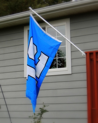 I just bought this flag for this season!