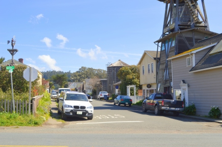 Streets of Mendocino