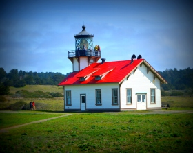 Point Cabrillo Lighthouse....