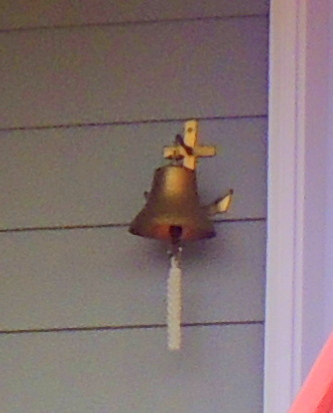 This bell is rung for every touch down!