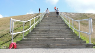 Mount Trashmore, going up?