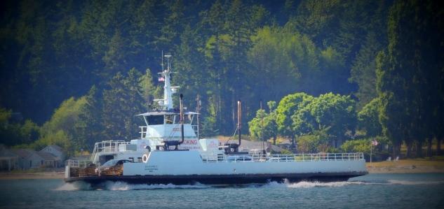 Guemes Island ferry...
