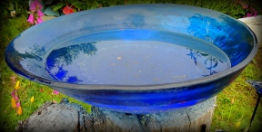 The blue of Stump Bowl....