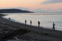 Beach Casting for Salmon