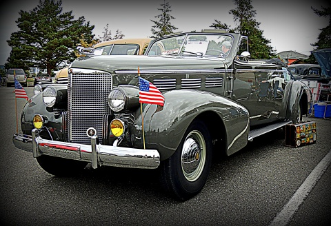 '38 Convertible Touring Cadillac Fully Loaded: #8 award for the day of 8/1/16; Top 20% award for the week of 8/28/16...