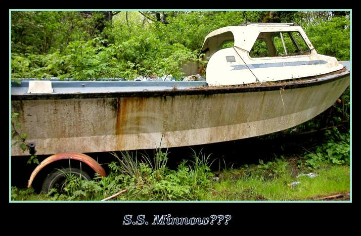 Boat Being Reclaimed: #3 for the day award for 2/3/16!