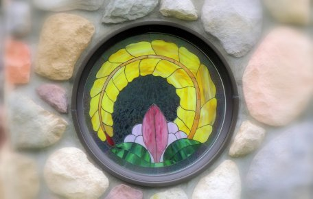 Round Stained Glass Window: Top 20% award for the day of 2/3/16...