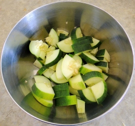 Chopped Cuke