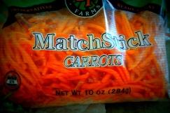 Carrots all ready!